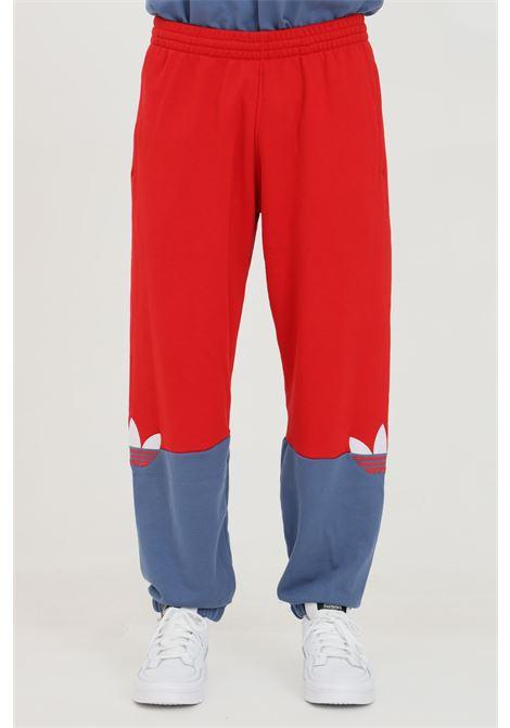 Pantaloni adicolor cliced trefoil in colorblock ADIDAS   Pantaloni   GN3444.