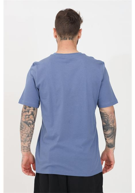 T-shirt adicolor classic trefoil uomo azzurro adidas a manica corta ADIDAS | T-shirt | GN3467BLACK