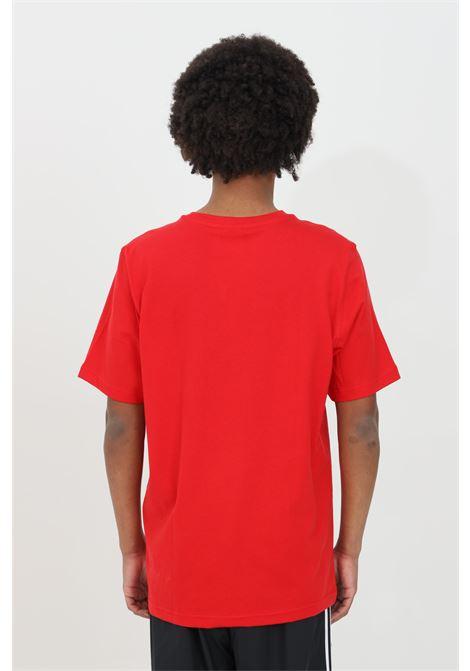 Red men's adicolor classic trefoil t-shirt short sleeve adidas ADIDAS | T-shirt | GN3468.
