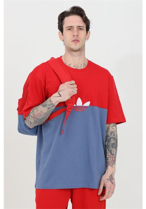 T-shirt bicolore adicolor sliced trefoil boxy ADIDAS | T-shirt | GN3503.