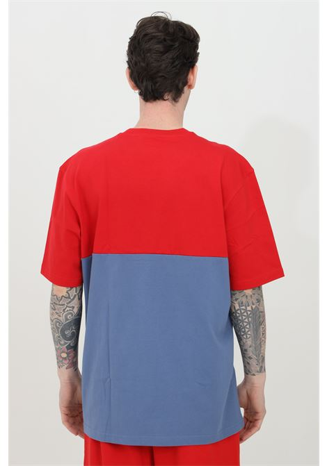 Red-blue men's adicolor sliced trefoil boxy t-shirt short sleeve adidas ADIDAS | T-shirt | GN3503.