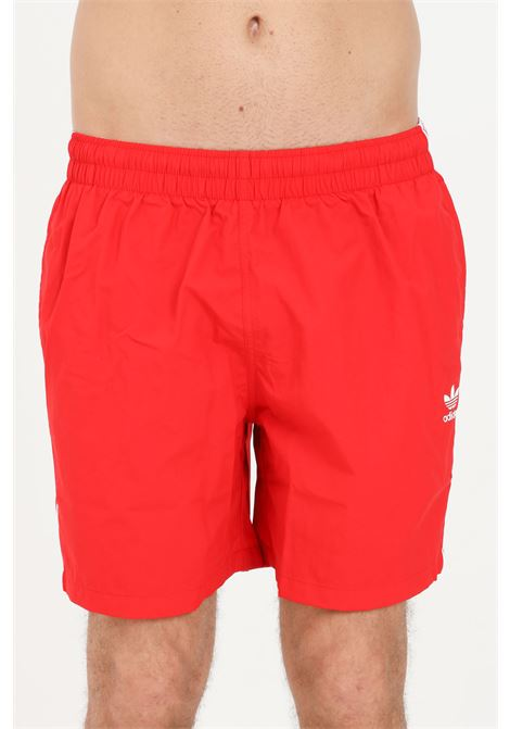 Shorts mare adicolor classics uomo rosso adidas ADIDAS | Beachwear | GN3526.