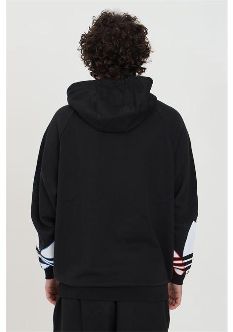 Felpa uomo nera adidas con cappuccio ADIDAS | Felpe | GN3570.