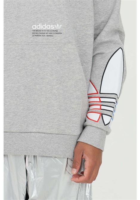 Felpa con cappuccio adicolor tricolor trefoil ADIDAS | Felpe | GN3571.