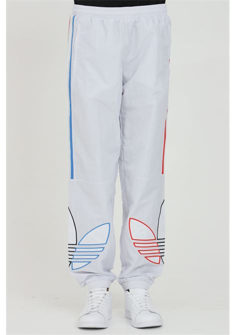 Trousers with waist elastic band and multicolor bands ADIDAS | Pants | GN3573.