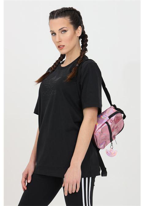 T-shirt trefoil with rhinestone tone on tone ADIDAS | T-shirt | GN3646.