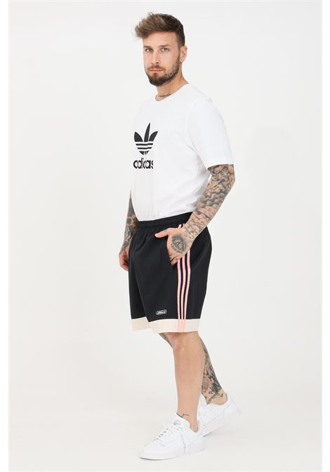 Shorts taped uomo nero adidas sport ADIDAS | Shorts | GN3897.