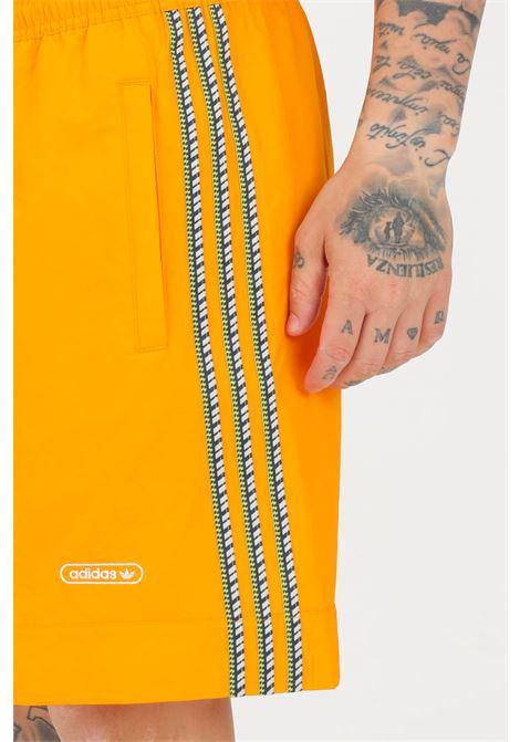 Orange men's taped shorts adidas ADIDAS | Shorts | GN3899.