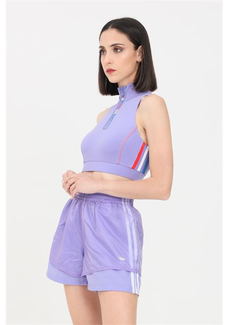 Shorts donna lavanda adidas sport ADIDAS | Shorts | GN4430.
