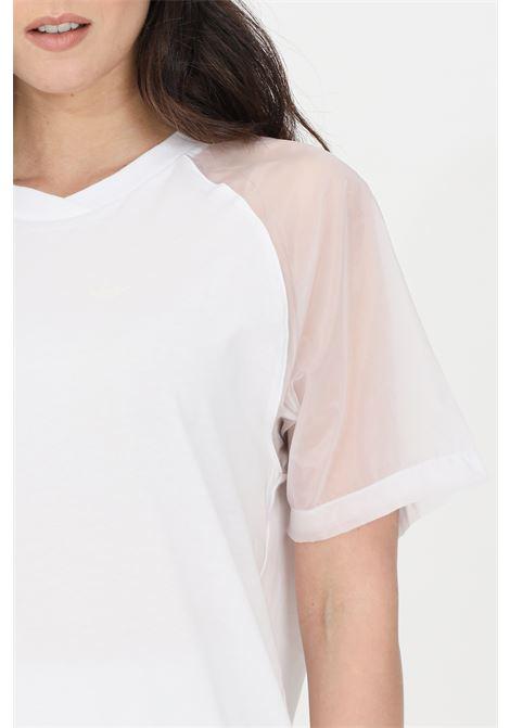 T-shirt donna bianco adidas a manica corta ADIDAS | T-shirt | GN4442.