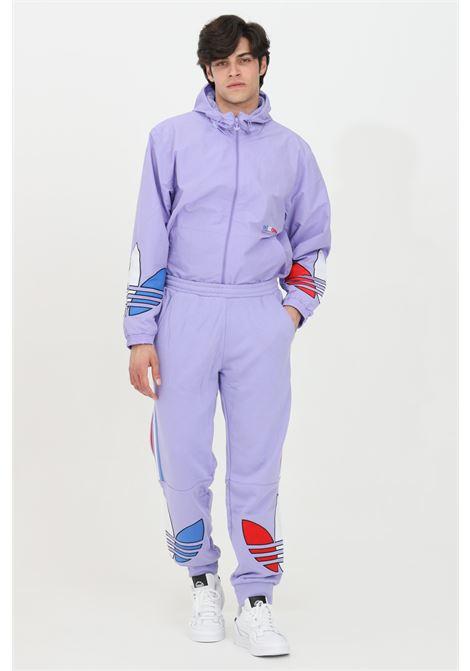 Pantalone felpa tricolore con vita elastica ADIDAS | Pantaloni | GN4453.