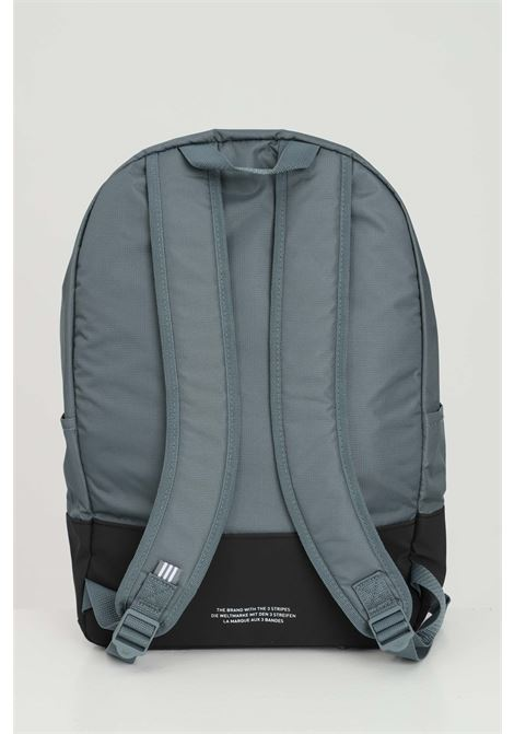 Blue backpack with closure zip and maxi logo front. Adjustable shoulder straps. Brand: Adidas ADIDAS | Backpack | GN4985.