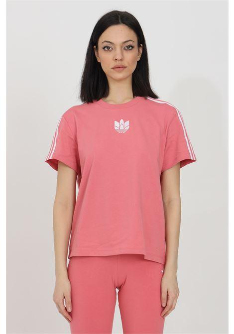 T-shirt con logo ricamato sul fronte ADIDAS | T-shirt | GN6702.