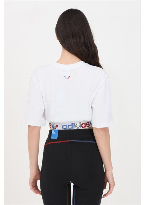 T-shirt adicolor primeblue donna bianco adidas a manica corta ADIDAS | T-shirt | GN6979.