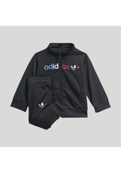 Black newborn track suit adicolor primeblue jumsuit adidas ADIDAS | Suit | GN7420.