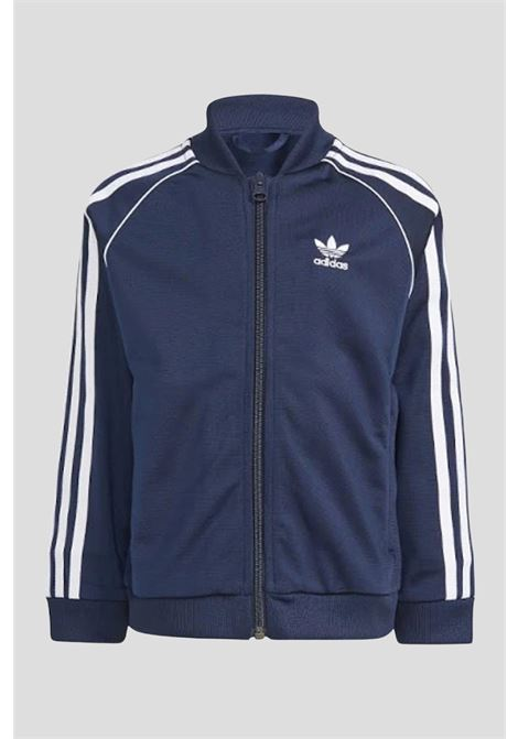 Blue baby suit by adidas  ADIDAS | Suit | GN7702.