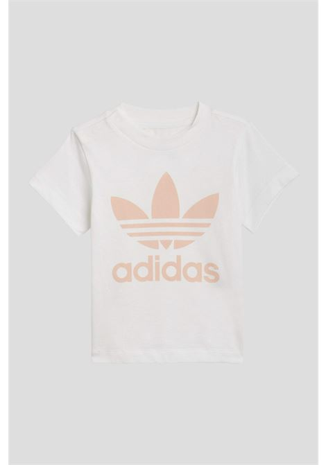 Completo bambino unisex pesca adidas trefoil ADIDAS | Completini | GN8192.