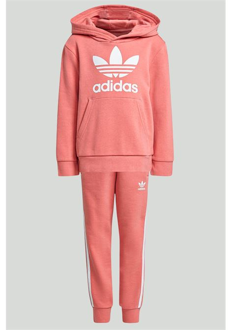 Complete jumpsuit with hood and logo  ADIDAS | Suit | GN8207.