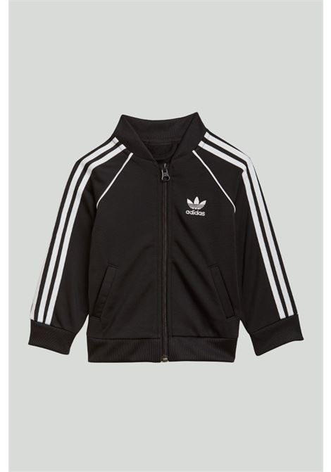 Black newborn jumpsuit adidas ADIDAS | Suit | GN8441.