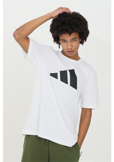 T-shirt logo sportswear uomo bianco adidas manica corta ADIDAS | T-shirt | GP9506.