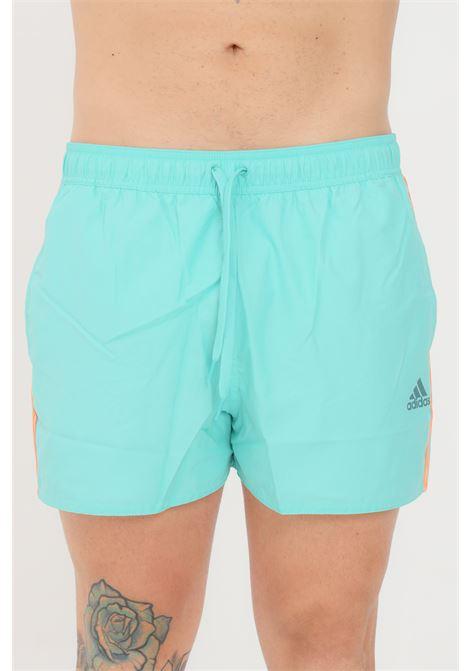 Turquoise men's beach shorts adidas ADIDAS | Beachwear | GQ1094.