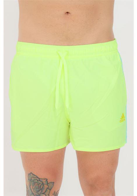 Yellow men's beach shorts adidas ADIDAS | Beachwear | GQ1099.