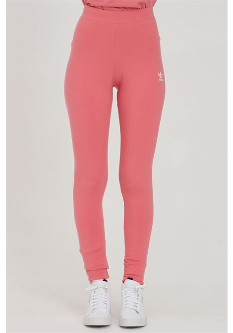 Solid color leggings with side logo ADIDAS | Leggings | H36801.