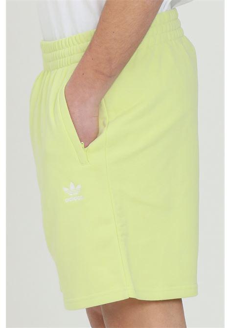 Yellow men's loungewear trefoil essentials shorts adidas ADIDAS | Shorts | H39972.