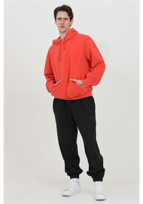 Felpa con cappuccio e logo ricamato tono su tono ADIDAS | Felpe | HB8058.