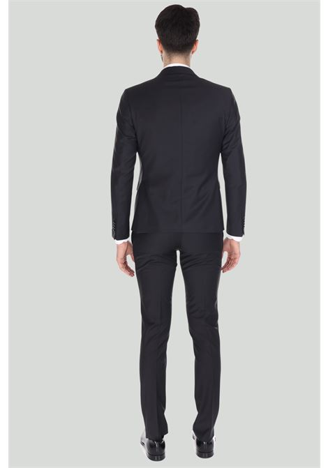 Abito uomo nero Alessandro dell'Acqua elegante ALESSANDRO DELL'ACQUA | Abiti | AD5012/T1648E80