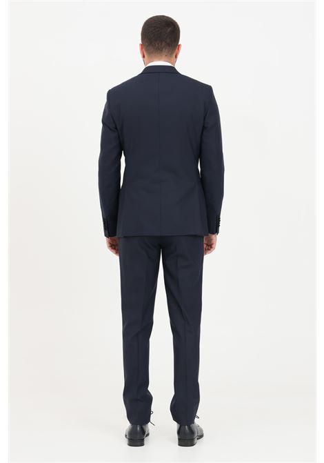 Black men's suit alessandro dell'acqua double breasted ALESSANDRO DELL'ACQUA | Dress | AD5040BRS-T1648E50