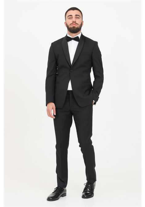 Black men's dress classic model alessandro dell'acqua ALESSANDRO DELL'ACQUA | Dress | AD5058BR-T234180