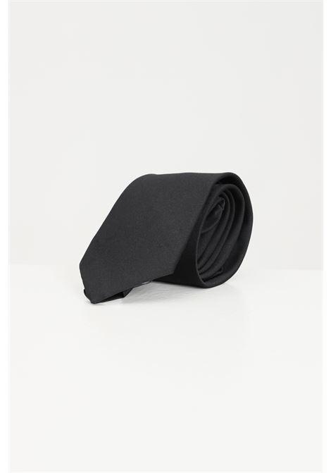 Black men's tie alessandro dell'acqua ALESSANDRO DELL'ACQUA | Tie | Bow tie | AD8735-T239780