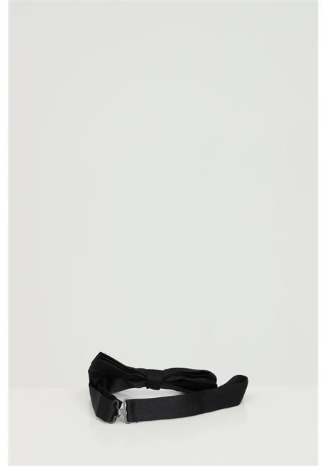 Black bow tie. Brand: Alessandro Dell'Acqua ALESSANDRO DELL'ACQUA | Tie | Bow tie | AD9724/T239780