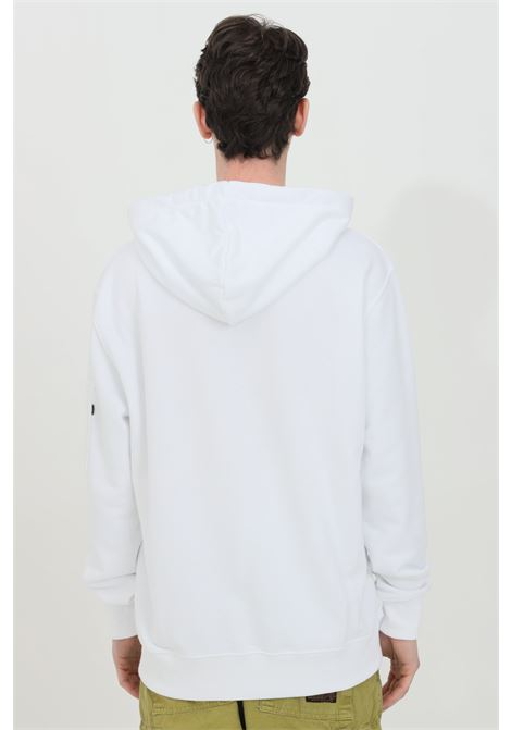 White hoodie with laces, comfortable model. Alpha industries  ALPHA INDUSTRIES | Sweatshirt | 15832109