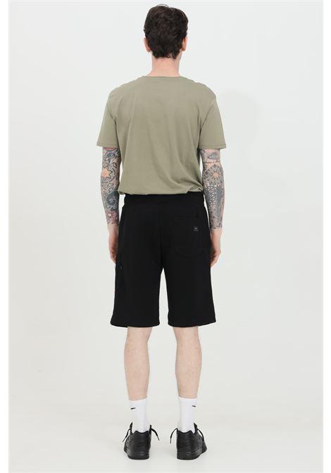 Black Sweatshorts Cargo shorts with elastic waistband, side pockets and back pocket. Alpha industries  ALPHA INDUSTRIES | Shorts | 16630103