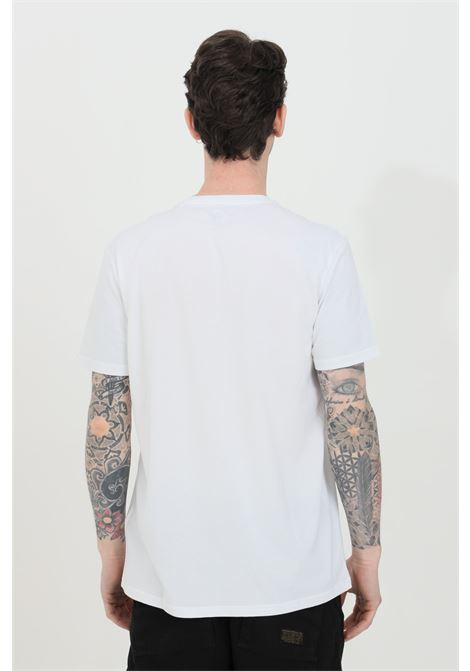White t-shirt with front print, short sleeve. Alpha industries  ALPHA INDUSTRIES | T-shirt | 178501RR09