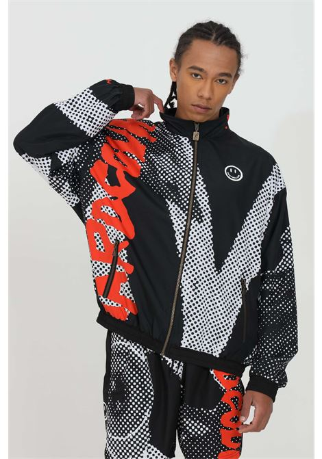 Wind jacket with print and zip closure AUSTRALIAN | Jacket | HCUGC0005003