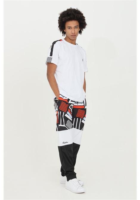 Pantaloni uomo nero casual Australian con stampa allover AUSTRALIAN | Pantaloni | SWUPA0014003