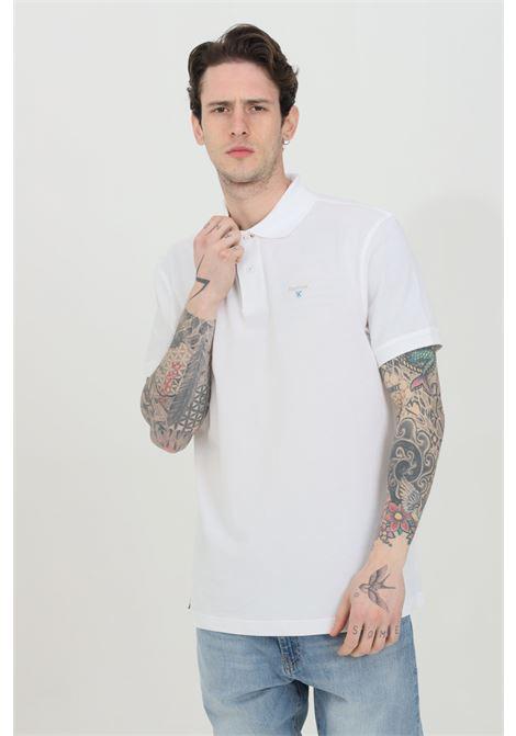Tartan pique polo shirt with buttons BARbour | Polo Shirt | MML0012-MMLWH11