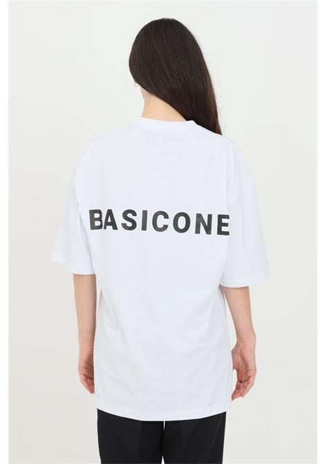 White unisex t-shirt with short sleeves. Basic one BASIC ONE | T-shirt | BSC1T1BIANCO