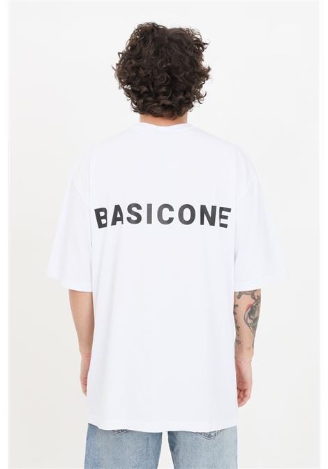 T-shirt unisex bianco basic one a manica corta BASIC ONE | T-shirt | BSC1T1BIANCO