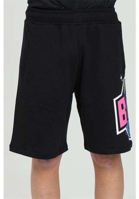 Shorts con maxi stampa BHMG | Shorts | 029041110