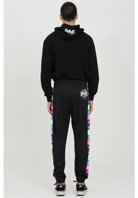 Casual Sweatpants l with multicolor bands. Elastic waist with side pockets. Elastic cuffs at the bottom.Bhmg BHMG | Pants | 029043110