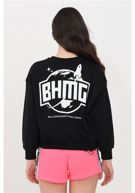 Black crew neck sweatshirt bhmg BHMG | Sweatshirt | 029122110