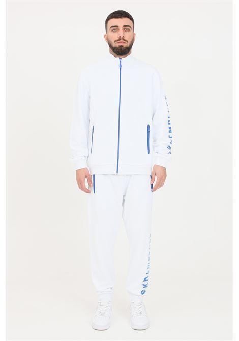 Tuta uomo bianco bikkembergs casual BIKKEMBERGS | Tute | C003801M3875A00