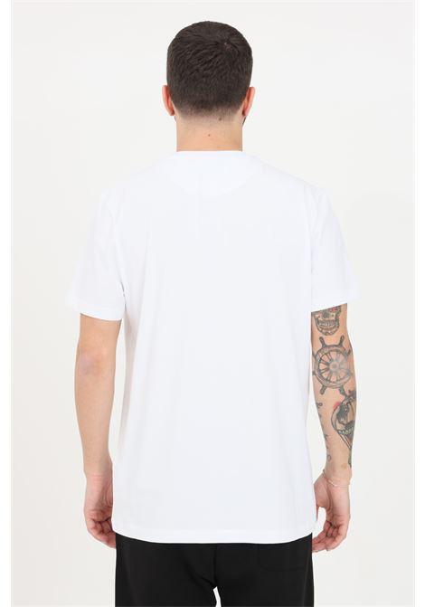 T-shirt uomo bianco bikkembergs a manica corta BIKKEMBERGS | T-shirt | C410124E1811A00