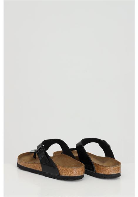 Black woman flip-flops, birkenstock gizeh. Brand: Birkenstock BIRKENSTOCK | Flip flops | 043661BLACK