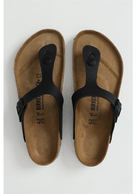 Gizeh BS BLACK. Adjustable flip-flop BIRKENSTOCK | Flip flops | 043691.