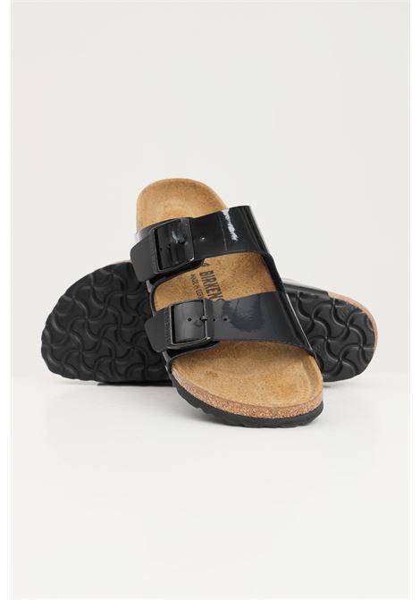 Ciabatte arizona bs black patent donna nero birkenstock BIRKENSTOCK | Ciabatte | 1005292.
